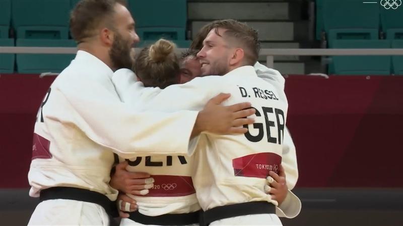 Bronze im Golden Score: Judoka jubeln über dritte Medaille