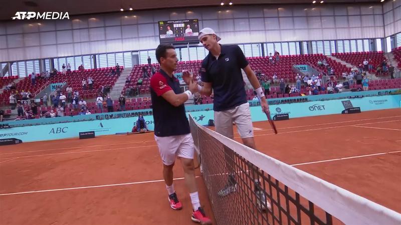 Джон Изнер – Роберто Баутиста. ATP Мадрид – обзор матча