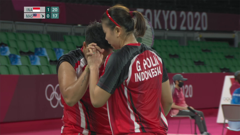 Tokyo 2020 - Indonesia  vs Malaysia  - Badminton – Rezumate de la Olimpiadă