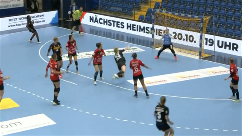 Highlights: Thüringer HC hält sich schadlos in Blomberg-Lippe