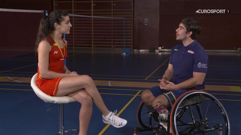 Carolina Marín y Martín de la Puente, dos auténticos ejemplos de superación