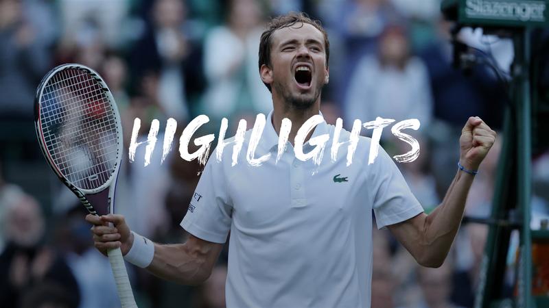 Wimbledon2021 : Rezumatul meciului dintre Cilic și Medvedev