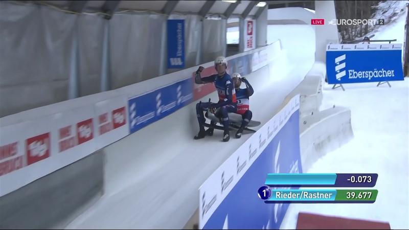Rieder/Rastner in testa nella prova di Innsbruck