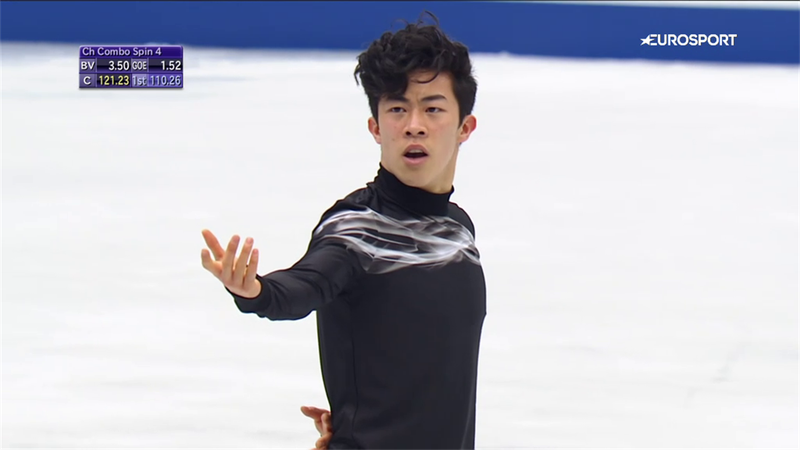 On This Day: Nathan Chen dazzles to set new record