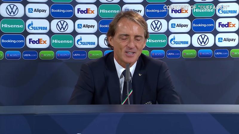 """Mancini: """"Meglio aver perso questa che all'Europeo"""""""