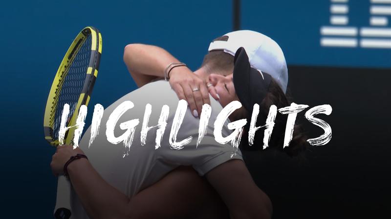 Krawczyk/Salisbury - Olmos/Arevalo - US Open Highlights