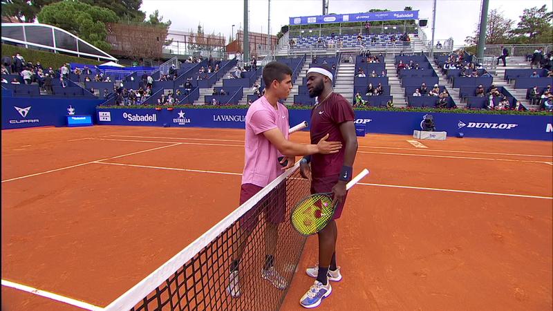 ATP Barcelona: Rezuumatul meciului dintre Tiafoe și Alcaraz, noua stea a tenisului spaniol