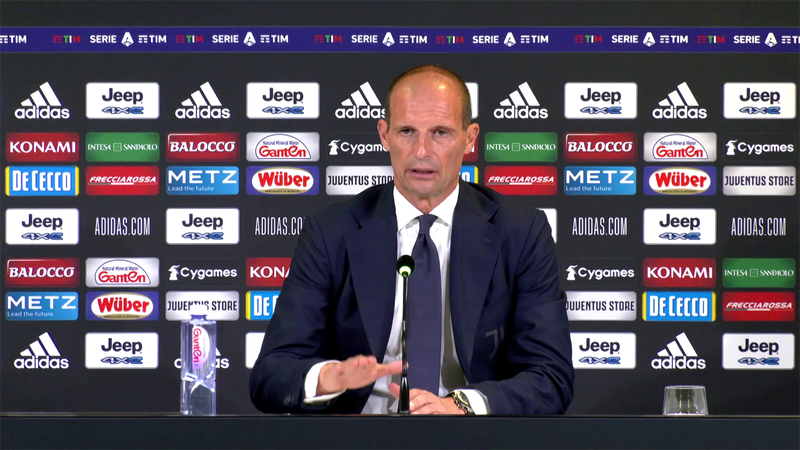 """Allegri: """"Ora la Juve ha piacere anche a difendere"""""""