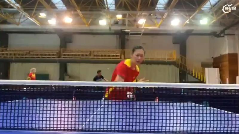 ¡Vaya intensidad! María Xiao enseña cómo se prepara para los Juegos