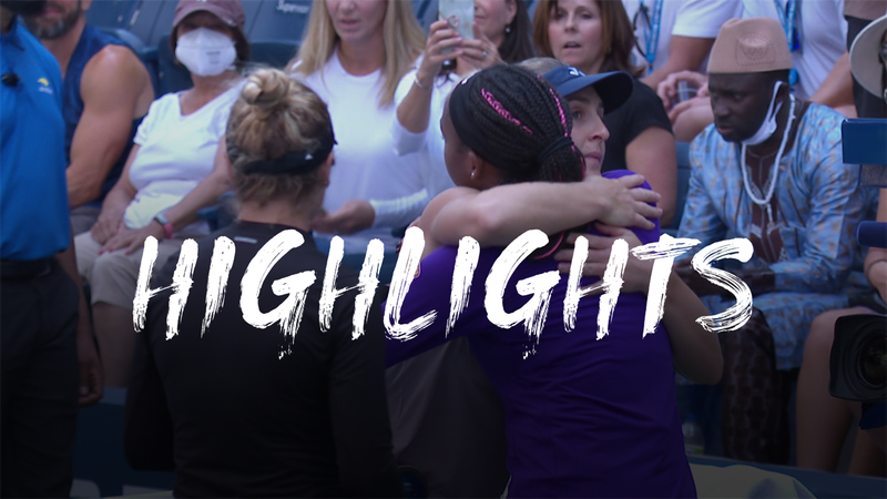Dabrowski/Stefani durano un set, Gauff/McNally in finale: highlights