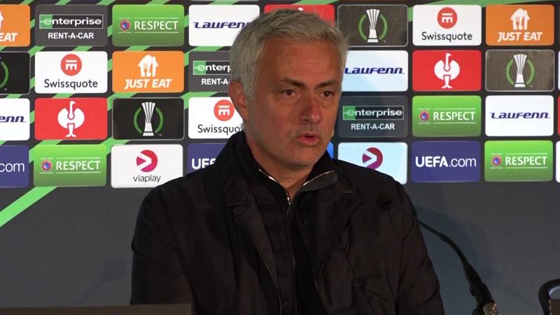 """Mourinho: """"Devo pregare di non avere infortuni, ora lo sapete"""""""