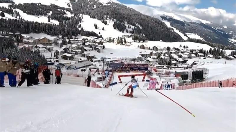 Atemberaubende Kamerafahrt: So schnell ist Slalom