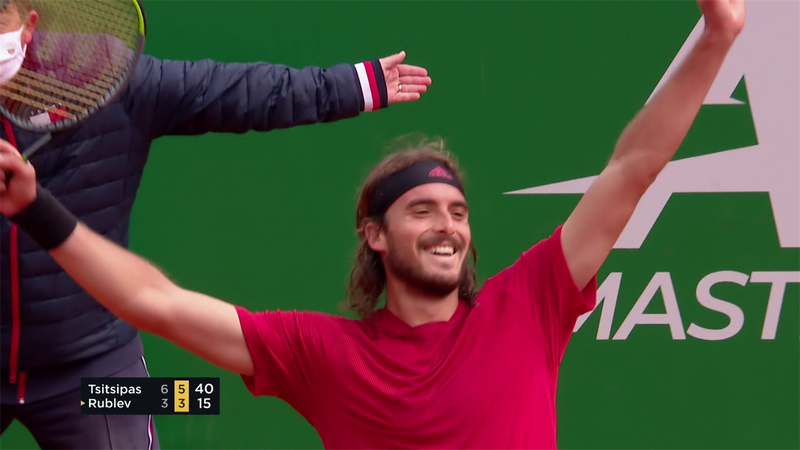 ATP Monte Carlo: Rezumatul finalei dintre Stefanos Tsitsipas și Andrey Rublev, scor 6-3, 6-3