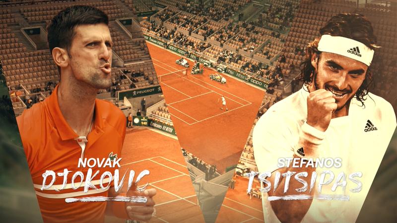 Tsitsipas fordert Djokovic im Kampf um die Krone von Paris