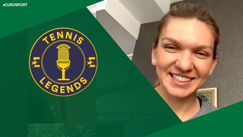 Tennis Legends Special: Simona Halep, despre anularea Wimbledon-ului