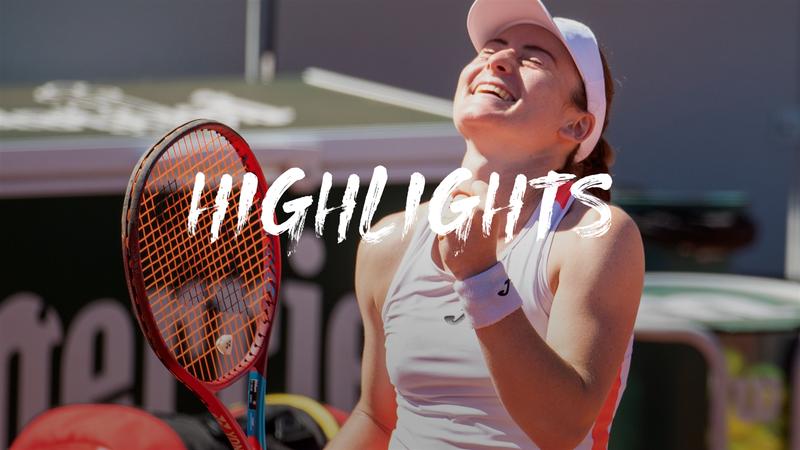 Andreescu - Zidansek - Roland-Garros Highlights