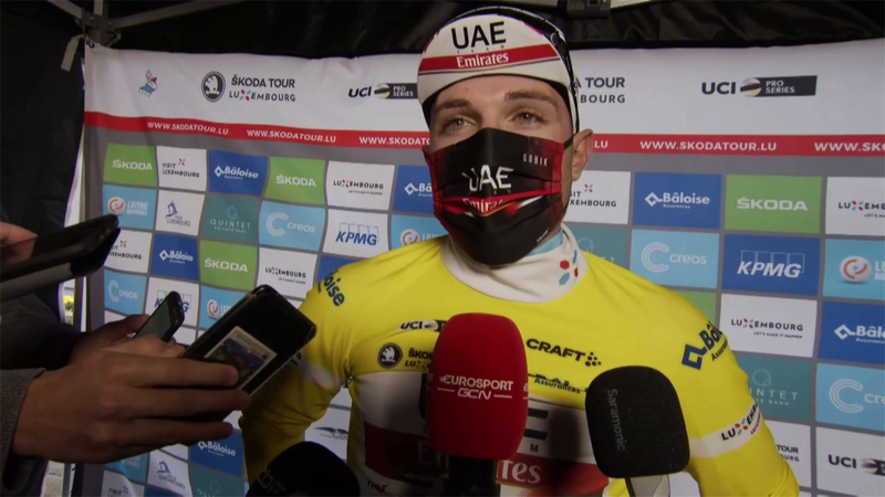 'A really hard climb' - Hirschi talks about difficulties on Stage 2 before going 'full gas'