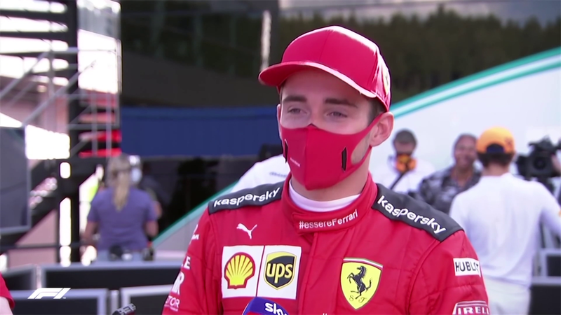 """Leclerc: """"Non capiterà di essere così fortunati con le safety car. C'è tanto lavoro da fare"""""""
