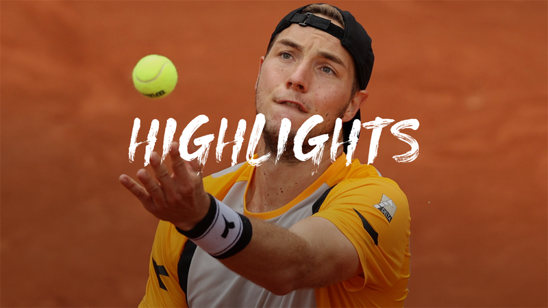 Jan Lennard Struff  - Carlos Alcaraz  - Roland-Garros Highlights