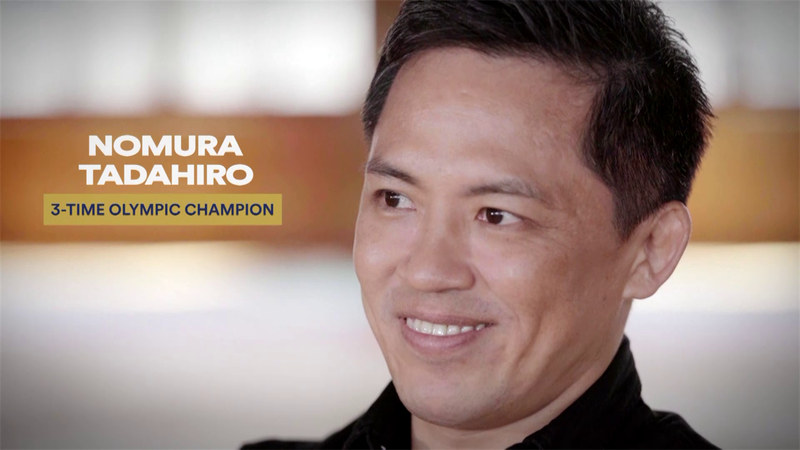 Legends Live On - Episode 3: Three-time Olympic judo champion Nomura Tadahiro