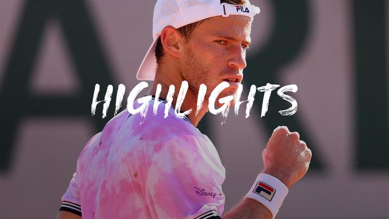 Highlights: Schwartzman battles past Lu at Roland-Garros