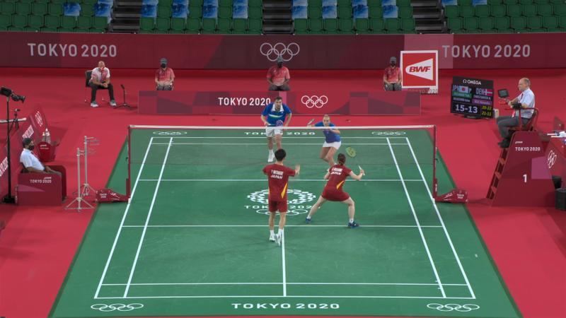 Токио-2020 - Japan против Denmark - Бадминтон – Главные события Олимпиады