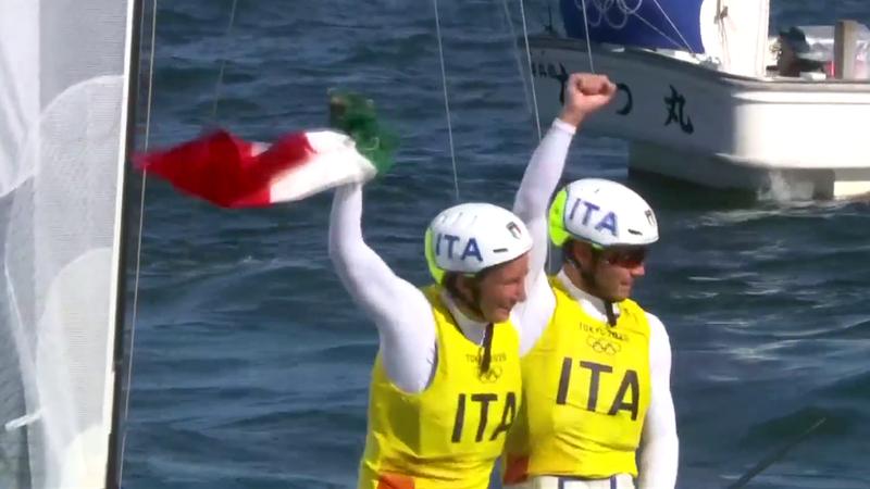 """Tita/Banti, l'arrivo e la festa col tricolore: """"Abbiamo vinto l'Oro!"""""""