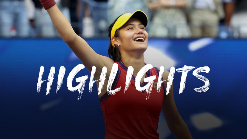 Raducanu - Fernandez - US Open Highlights