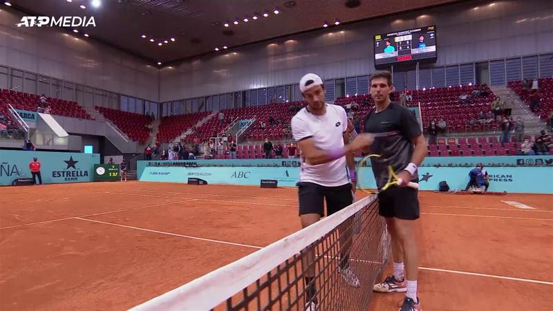 Маттео Берреттини – Федерико Дельбонис. ATP Мадрид – лучшие моменты матча
