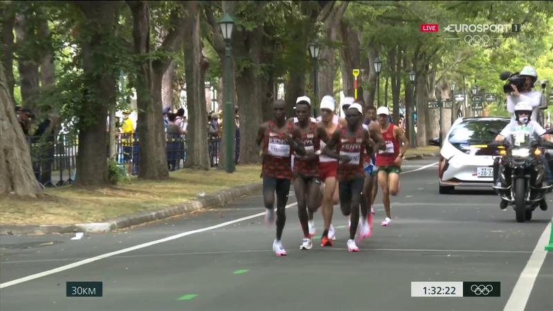 Jocurile Olimpice: Clasamentul maratoniștilor la kilometrul 30 la Tokyo 2020