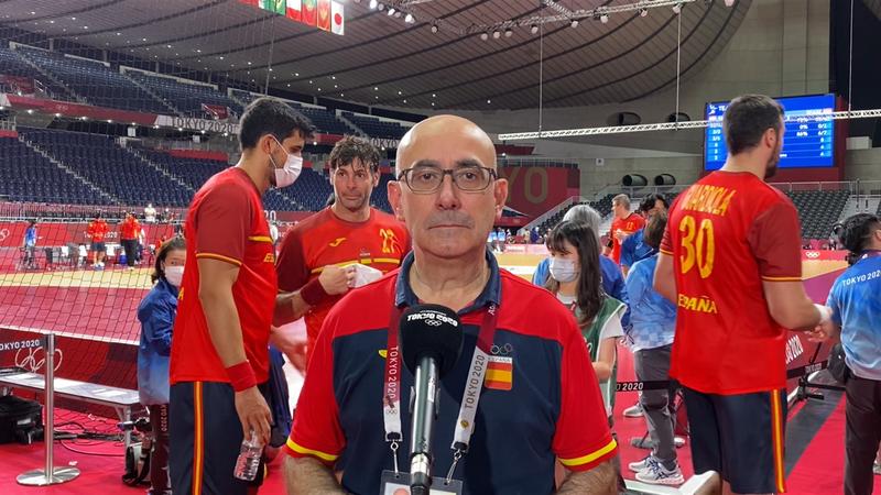 """Balonmano (H) Jordi Ribera: """"El deporte ha premiado a un grupo extraordinario"""""""