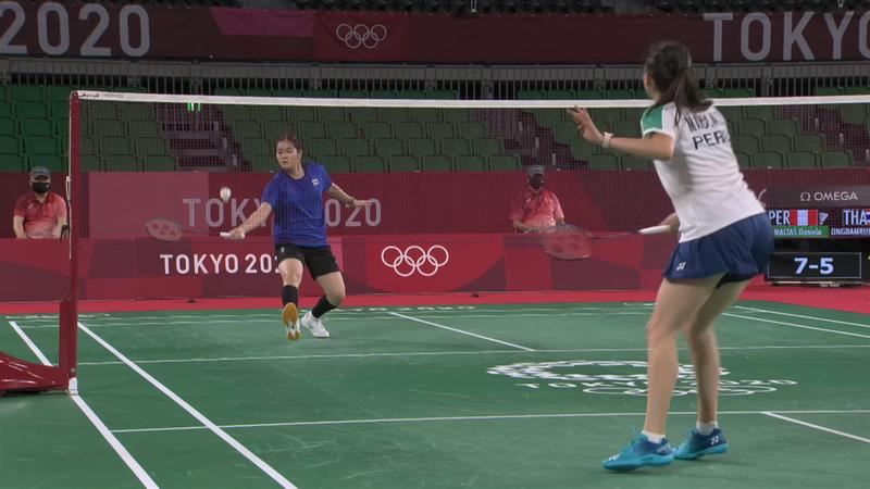 Tokyo 2020 - Thailand mot Peru - Badminton – OL-høydepunkter