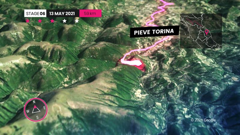 Le profil de la 6e étape : 15,5km à 6,1% de moyenne, San Giacomo peut faire des dégâts