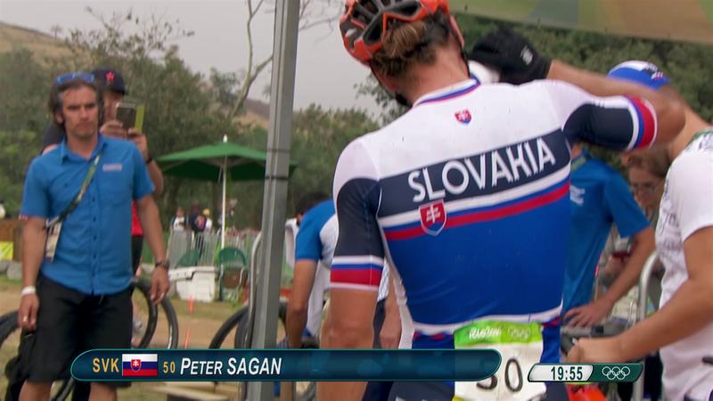 Sagan e l'amore per la MTB: le immagini di Rio 2016