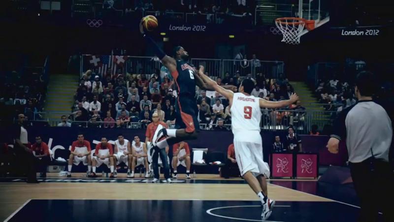 Jordan vs LeBron at Olympic Games