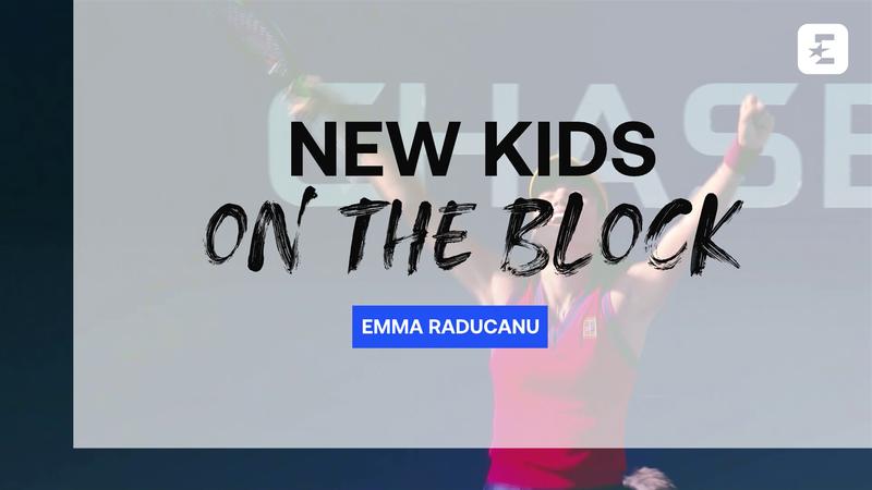 New Kids on the Block: Conoce a Emma Raducanu