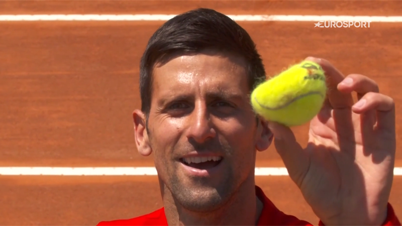 Hogy mi történik, ha Andy Murray az edzőpartnered? Djokovic megmutatja