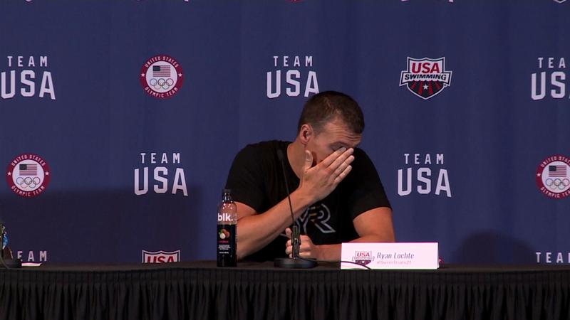 Lochte, niente 5a Olimpiade: si commuove in conferenza stampa
