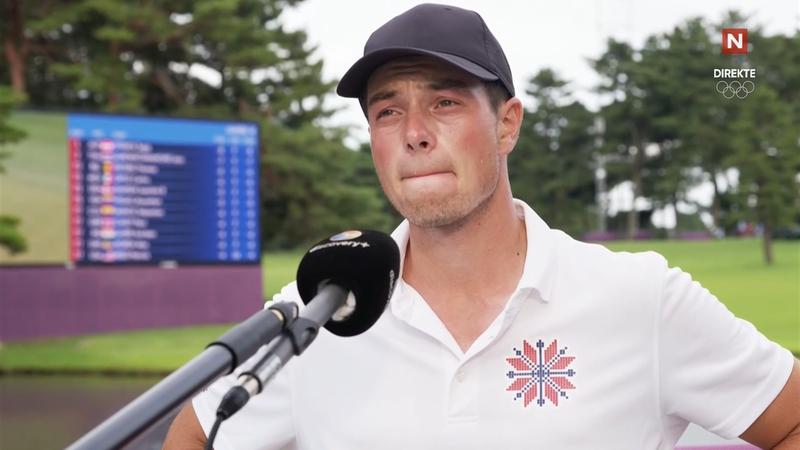 Hovland etter OL-debuten: – Svetten renner og man er ikke komfortabel