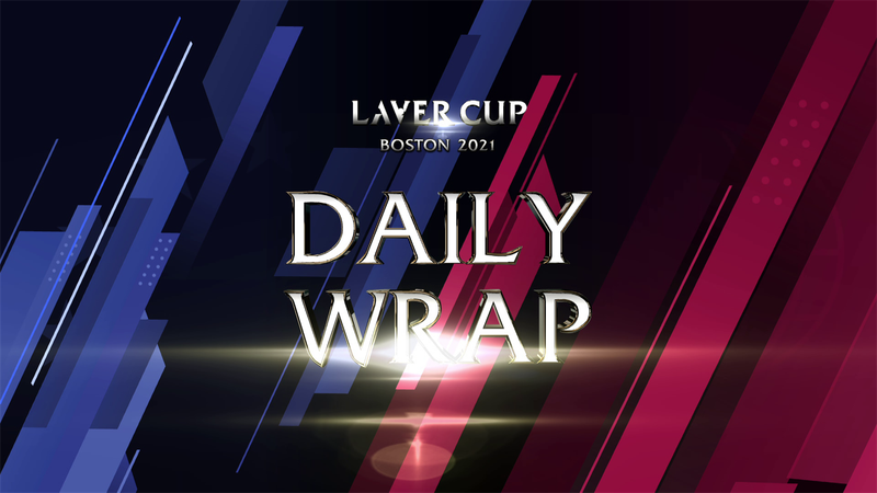Laver Cup:  Cele mai interesante mingi din ziua 2