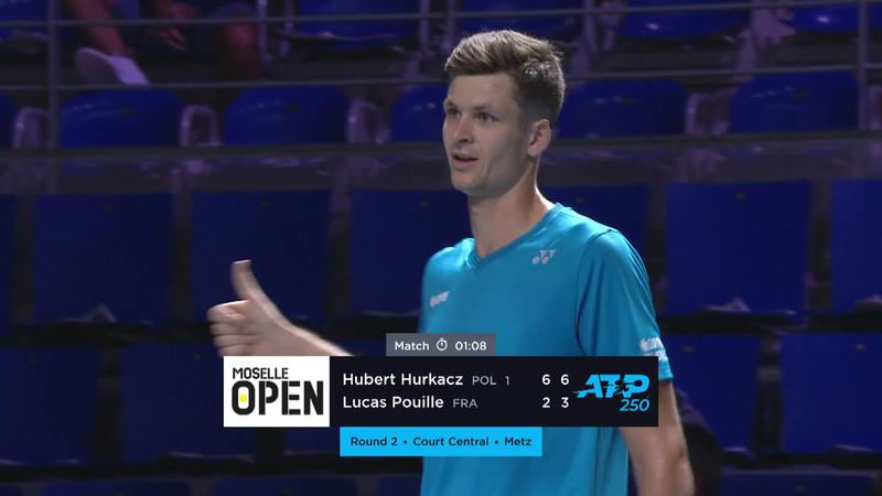 Hubert Hurkacz ott lesz a legjobb nyolc között