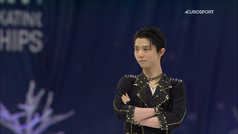 Hanyu primo dopo il corto, va oltre i 100 punti