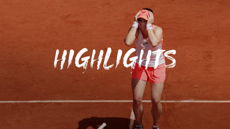 Tamara Zidansek - Sorana Cirstea  - Roland-Garros
