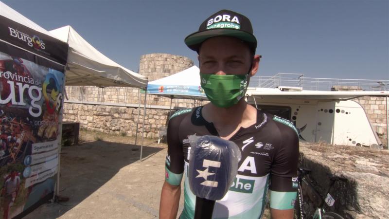 'I just went full gas!' - Felix Grossschartner analyses stage win at Vuelta a Burgos
