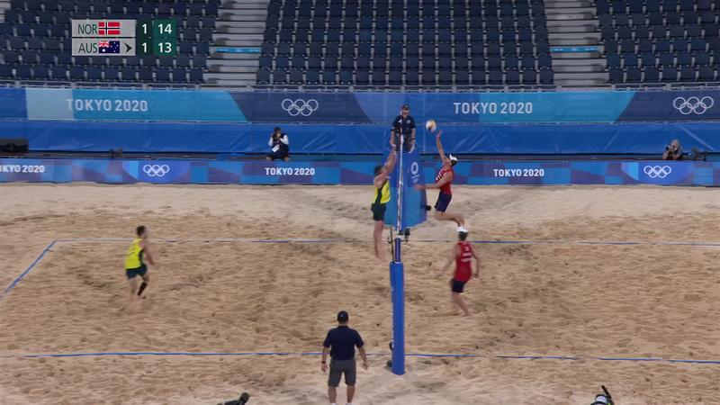 Tokyo 2020 - Norway ile Australia - Plaj Voleybolu – Olimpiyatların Önemli Anları