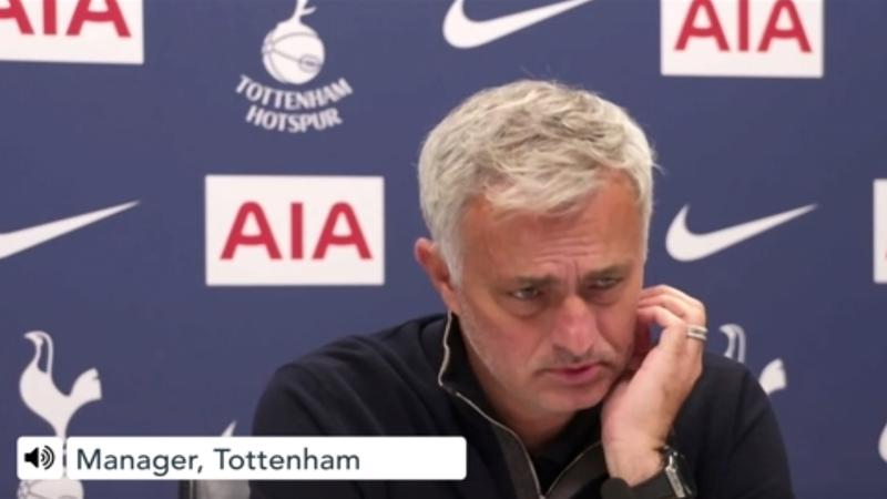 'Revenge? I don't have enemies there' – Mourinho on match against Man Utd
