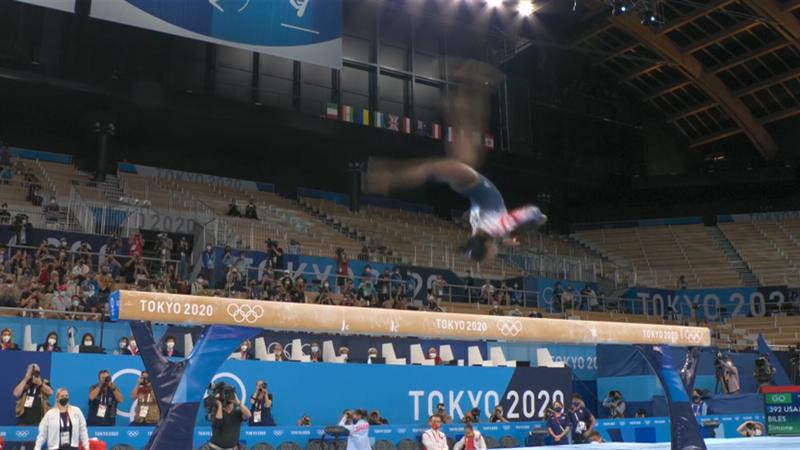 Turn-Superstar is back! Simone Biles auf dem Schwebebalken zu Bronze