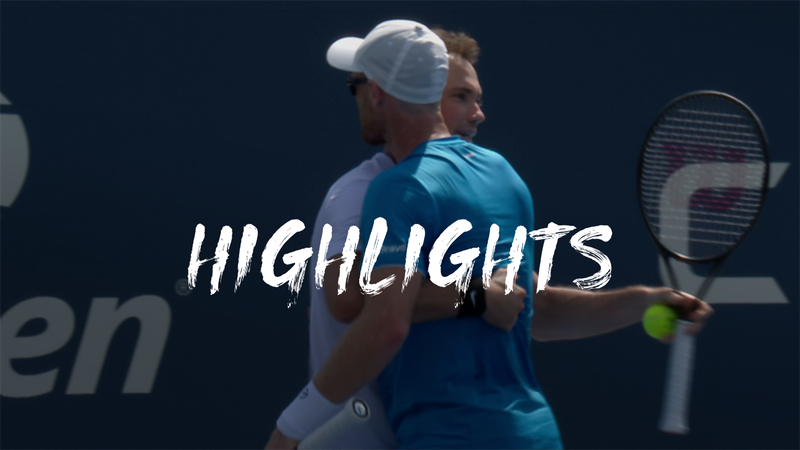 Murray/Soares - Koepfer/Ruusuvuori - US Open