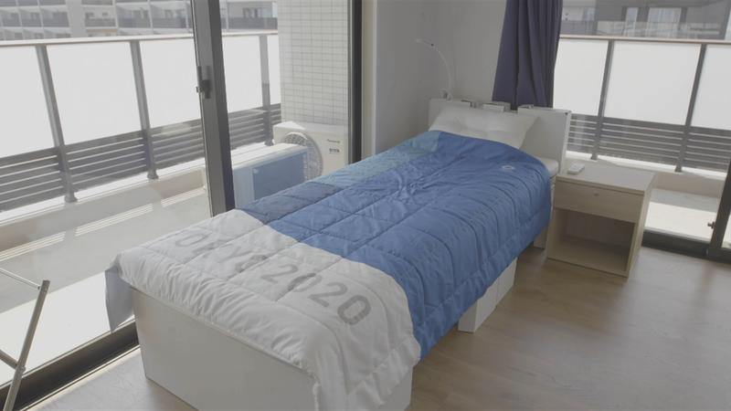 Tokyo 2020: alla scoperta delle camere dove dormiranno gli atleti