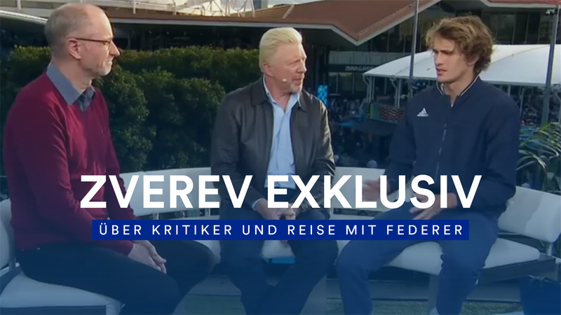 """Klare Ansage von Zverev: """"Die Kritiker haben keine Ahnung, wer ich bin"""""""
